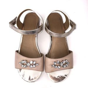 AMERICAN EAGLE Girls Embellished Dress Shoe Sandal